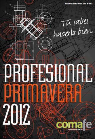 Portada Profesional Primavera 2012