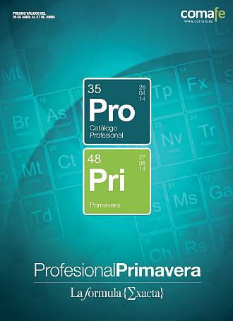 Portada Profesional Primavera 2014